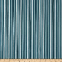Benartex Stone Cottage 2 Arbor Stripe Wedgewood