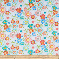 Benartex Home Grown Floral Gray