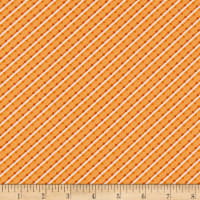 Benartex Home Grown Stripe Orange