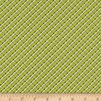 Benartex Home Grown Stripe Green