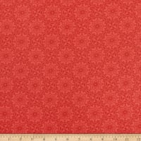 Benartex Home Grown Medallion Red