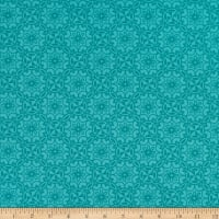 Benartex Home Grown Medallion Teal