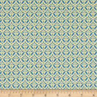 Benartex Home Grown Floret Blue/Green