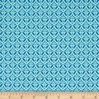 Benartex Home Grown Floret Teal
