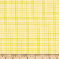 Benartex Home Grown Plaid Yellow
