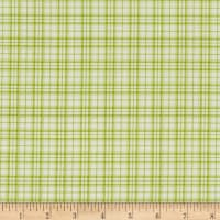 Benartex Home Grown Plaid Green