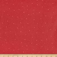 Benartex Home Grown Circle Dot Red
