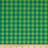 Contempo Warp & Weft Premium Yarn Dyes Check Plaid Blue/Green
