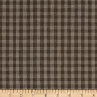 Contempo Warp & Weft Premium Yarn Dyes Gingham Gray