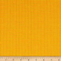 Contempo Warp & Weft Premium Yarn Dyes Mini Gingham Orange