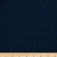 Contempo Warp & Weft Premium Yarn Dyes Mini Gingham Blue