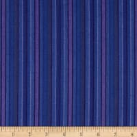 Contempo Warp & Weft Premium Yarn Dyes Purple Stripe Purple