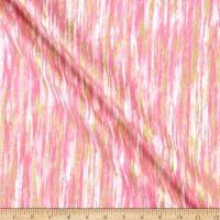 Kanvas Cherish Jeweled Texture Stripe Lt.Pink
