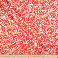 Kanvas Cherish Cherish Scroll Red