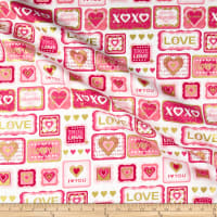 Kanvas Cherish True Love Patch White