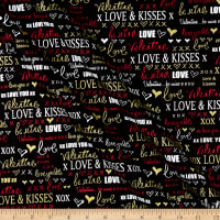 Kanvas Cherish Love Words Black