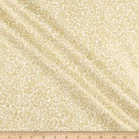 Kanvas Metallic Mixers Gold Metallic Fern Leaf Cream/Gold