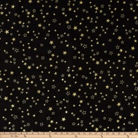 Kanvas Metallic Mixers Gold Metallic Stars Black/Gold