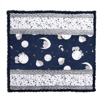 Shannon Minky Cuddle Kit Wee One Moonwalk Navy