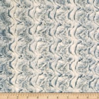 Shannon Minky Luxe Cuddle Paloma Chambray