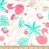 Shannon Studio Minky Cuddle Flamingo Blush