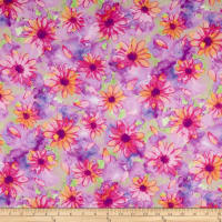 Kanvas Color Calypso Large Calypso Floral Lilac/Multi