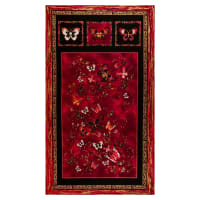 Kanvas Butterfly Jewel Panel Berry