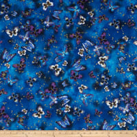 Kanvas Butterfly Jewel Butterfly Jewel Allover Royal/Blue