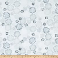 Kanvas Palermo Textured Medallion Pale Gray