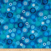 Kanvas Palermo Textured Medallion Teal