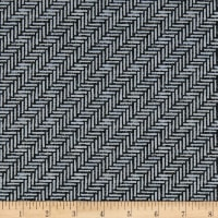 Kanvas Palermo Herringbone Tile Black/Gray