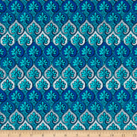 Kanvas Palermo Hourglass Mosaic Blue/Teal