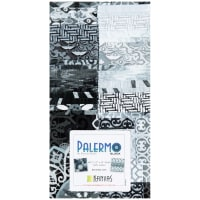 "Kanvas Palermo 40 2.5"" Strip-pies Black"