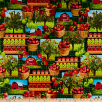 Kanvas Apple Gala Scenic Multi/Green