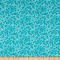 Contempo Fandangle Triangle Trinkets Teal