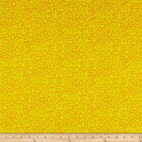 Contempo Fandangle Paper Cuts Yellow
