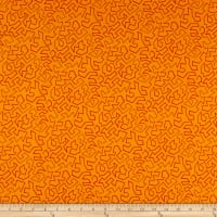 Contempo Fandangle Paper Cuts Orange