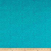Contempo Fandangle Paper Cuts Turquoise