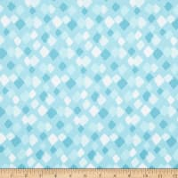 Contempo Little Friends Diamonds Teal