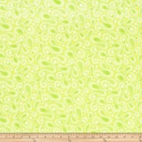 Contempo Free Motion Fantasy Paisley Lime