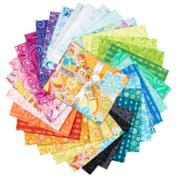 Free Motion Fantasy Fat Quarter Bundle 32 Pcs