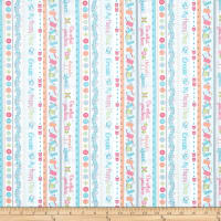Contempo My Happy Place Stripe Multi