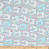 Contempo My Happy Place Favor Makers Machines Grey Multi