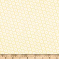 Contempo My Happy Place Dotty Buttons Light Yellow
