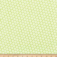 Contempo My Happy Place Dotty Buttons Green