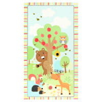 "Kanvas Friendship Forest 24"" Panel Multi"
