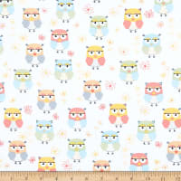 Kanvas Friendship Forest Friendship Owls White/Multi