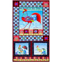 "Benartex Awaken the Day 24"" Panel Multi"