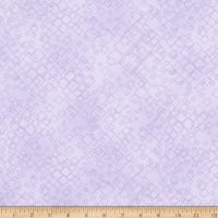 Benartex Cat-I-tude 2 PurrFect Together Tonal Squares Light Purple