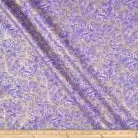 Cat-I-tude 2 PurrFect Together Featherly Paisley Purple